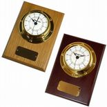 Clock Small Marine Style Wall Mounted, Personalised, ref MC02